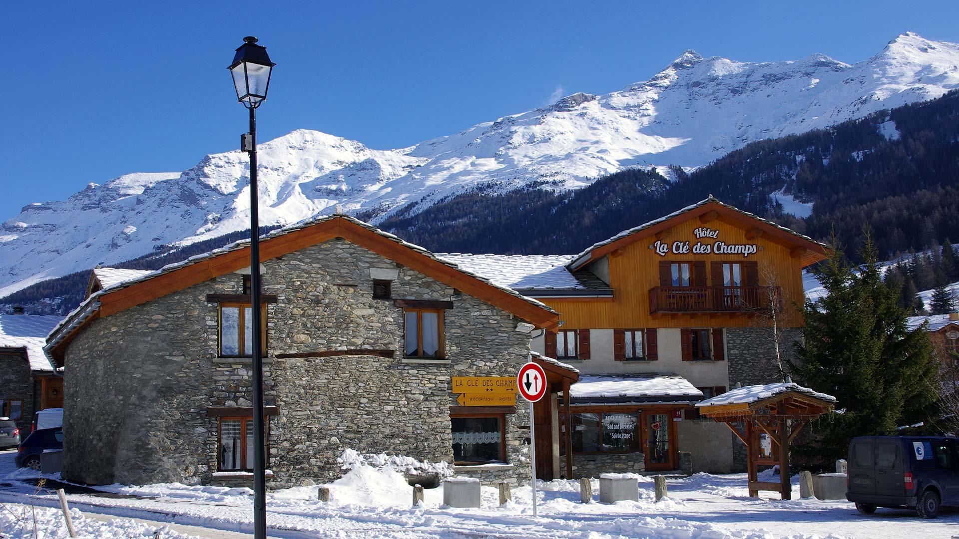 Hotel La Cle Des Champs Val Cenis